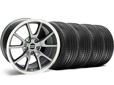 FR500 Anthracite Wheel & Sumitomo Tire Kit - 18x9 (99-04)