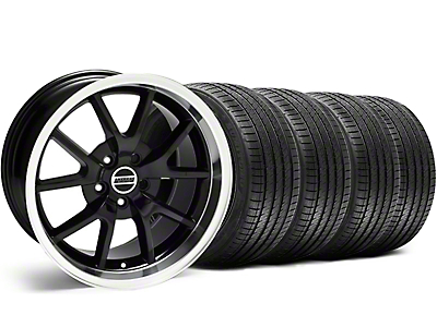 FR500 Black Wheel & Sumitomo Tire Kit - 18x9 (99-04)