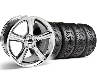 Staggered GT Premium Style Chrome Wheel & Sumitomo Tire Kit - 18x9/10 (05-14)