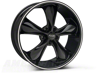 Black Foose Legend Wheel - 20x8.5 (05-14 All, Excluding GT500)