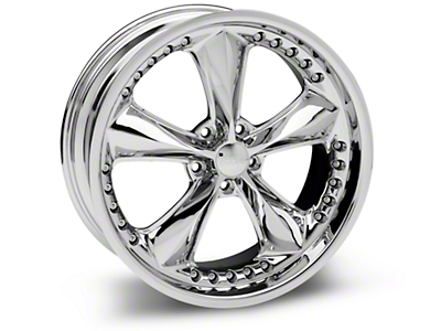Chrome Foose Nitrous Wheel - 20x8.5 (05-14 GT, V6)
