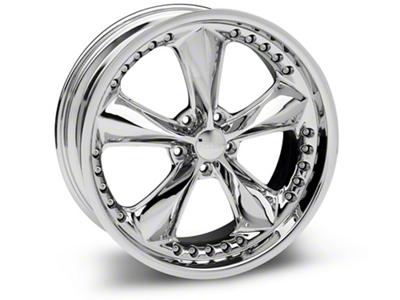 Foose Nitrous Chrome Wheel - 20x8.5 (05-14 GT, V6)