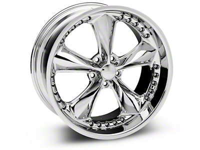 Chrome Foose Nitrous Wheel - 20x10 (05-14 GT, V6)