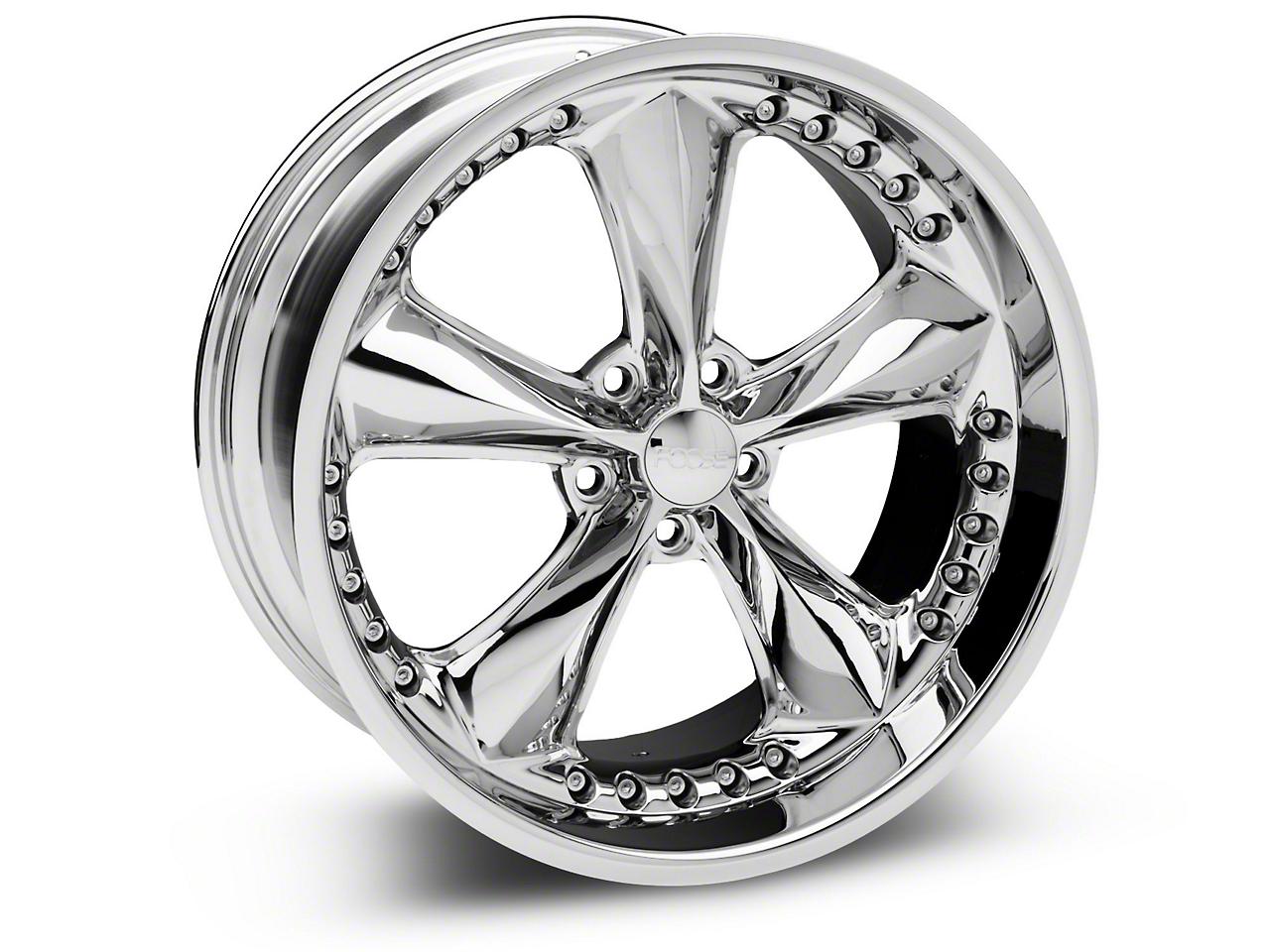 Foose Nitrous Chrome Wheel - 20x10 (05-14 GT, V6)