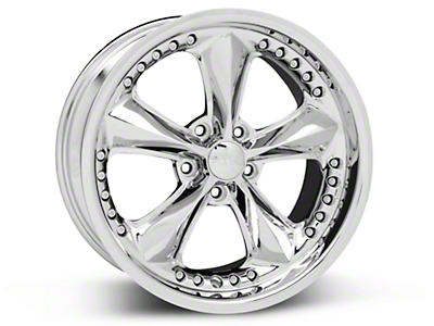 Chrome Foose Nitrous Wheel - 18x9 (05-14 GT, V6)