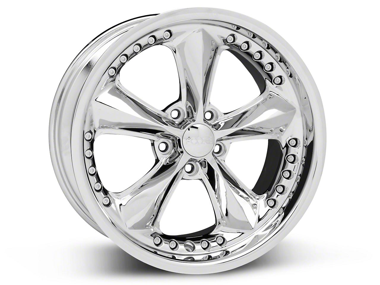 Foose Nitrous Chrome Wheel - 18x9 (05-14 GT, V6)