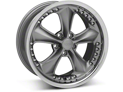 Foose Nitrous Gray Wheel - 18x9 (94-04 All)