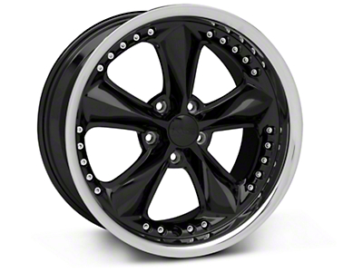 Foose Nitrous Black Wheel - 18x9 (05-14 GT, V6)