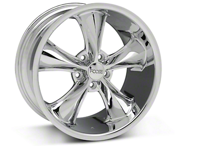 Chrome Foose Legend Wheel - 18x9.5 (05-09 GT, V6)