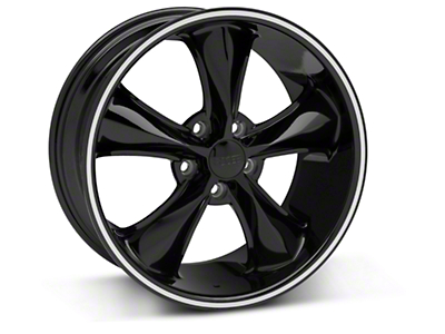 Black Foose Legend Wheel - 18x8.5 (05-09 GT, V6)