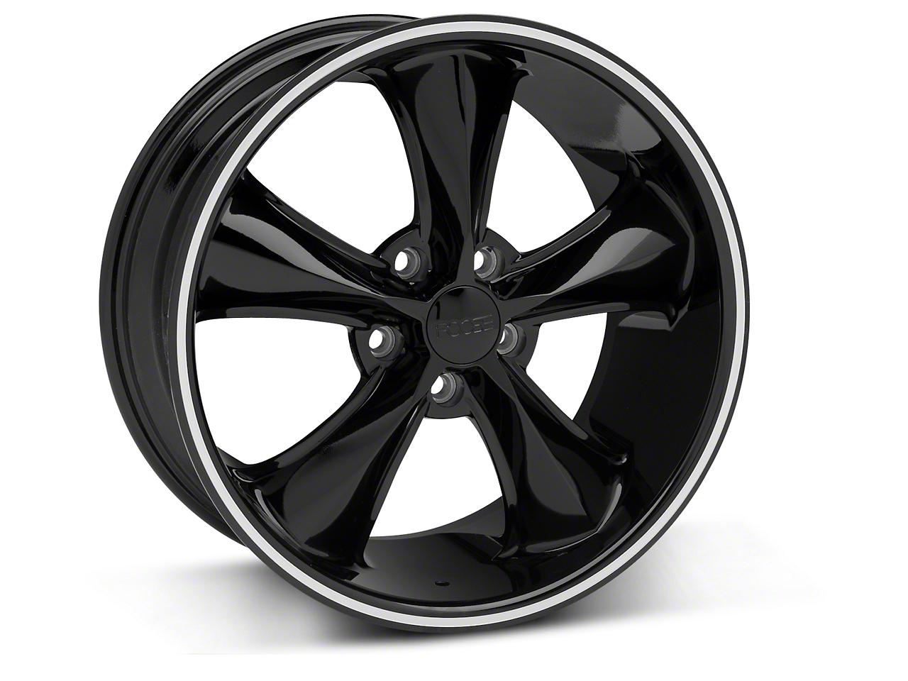 Foose Legend Black Wheel - 18x8.5 (05-10 GT, V6)