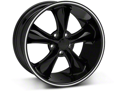 Foose Legend Black Legend Wheel - 18x9.5 (05-09 GT, V6)