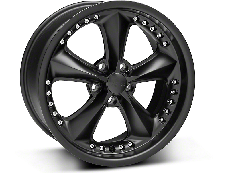 Foose Nitrous Matte Black Wheel - 18x9 (05-14 GT, V6)