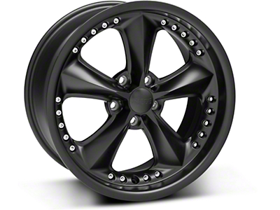 Matte Black Foose Nitrous Wheel - 18x9 (94-04 All)