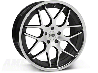 Niche Black Machined Mugello Wheel - 20x10 (05-14 All)