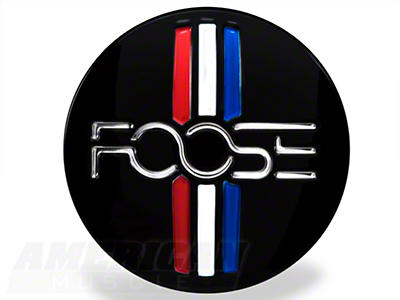 Foose Tri-bar Style Center Cap - Gloss Black
