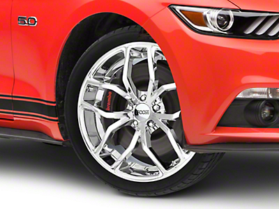 Foose Outcast Chrome Wheel - 20x8.5 (15-16 All)