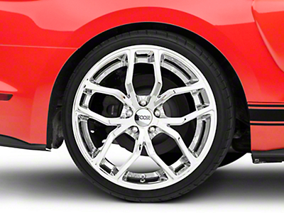Foose Outcast Chrome Wheel - 20x10 (15-16 All)