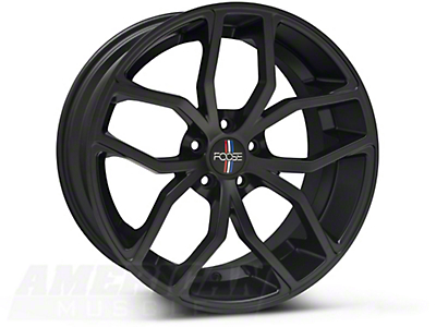 Foose Outcast Matte Black Wheel - 20x8.5 (05-14 All)