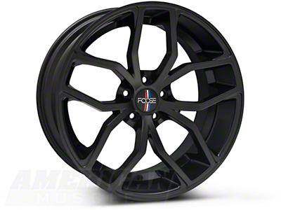 Foose Outcast Matte Black Wheel - 20x10 (05-14 All)