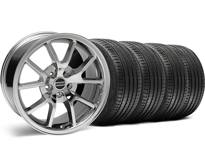 Staggered FR500 Style Chrome Wheel & Sumitomo Tire Kit - 18x9/10 (99-04)