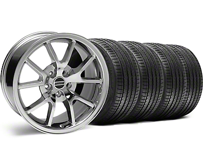 Staggered FR500 Style Chrome Wheel & Sumitomo Tire Kit - 18x9/10 (99-04)