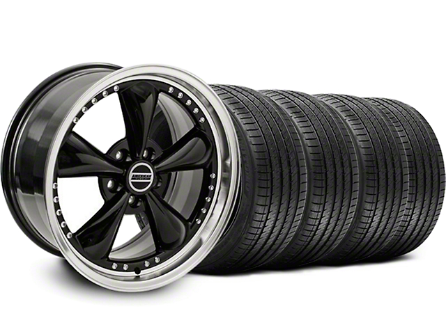 Bullitt Motorsport Black Wheel & Sumitomo Tire Kit - 18x9 (99-04)