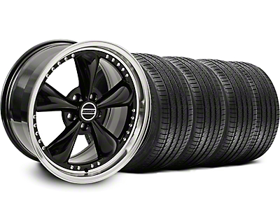 Black Bullitt Motorsport Wheel & Sumitomo Tire Kit - 18x9 (99-04)