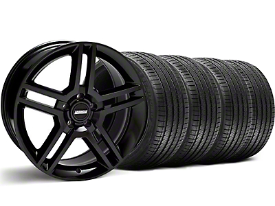 2010 GT500 Black Wheel & Sumitomo Tire Kit - 18x9 (99-04)