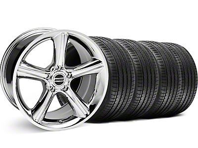 Chrome 2010 Style GT Premium Wheel & Sumitomo Tire Kit - 18x9 (99-04)