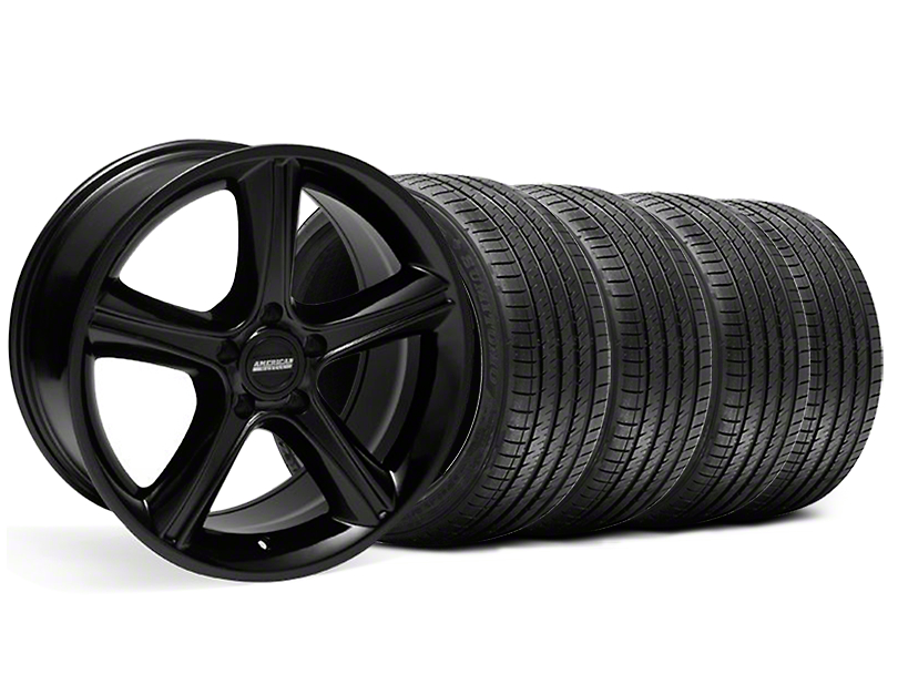 2010 GT Premium Style Black Wheel & Sumitomo Tire Kit - 18x9 (99-04)