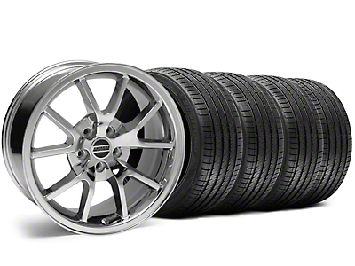 Chrome FR500 Wheel & Sumitomo Tire Kit - 18x9 (05-14)