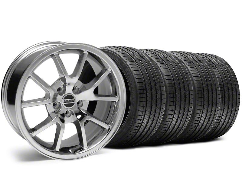 FR500 Style Chrome Wheel & Sumitomo Tire Kit - 18x9 (05-14)