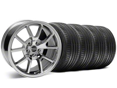 Staggered FR500 Style Chrome Wheel & Sumitomo Tire Kit - 18x9/10 (05-14)