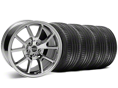 Staggered FR500 Chrome Wheel & Sumitomo Tire Kit - 18x9/10 (05-14)