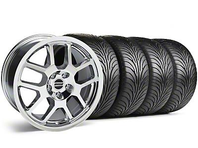 Chrome 2007 Style GT500 Wheel & Sumitomo Tire Kit - 18x9.5 (05-14)