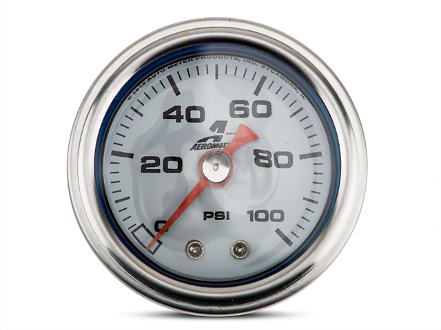 Aeromotive Fuel Pressure Gauge - Mechanical (79-17 All)