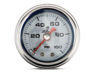 Aeromotive Fuel Pressure Gauge - Mechanical (79-14 All)