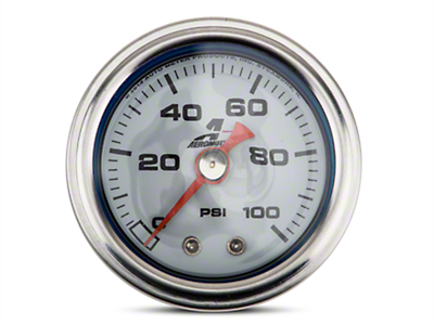 Aeromotive Fuel Pressure Gauge - Mechanical (79-16 All)