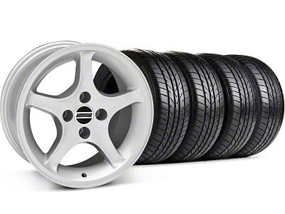 1995 Cobra R Style Silver Wheel & Sumitomo Tire Kit - 16x8 (87-93; Excludes 93 Cobra)