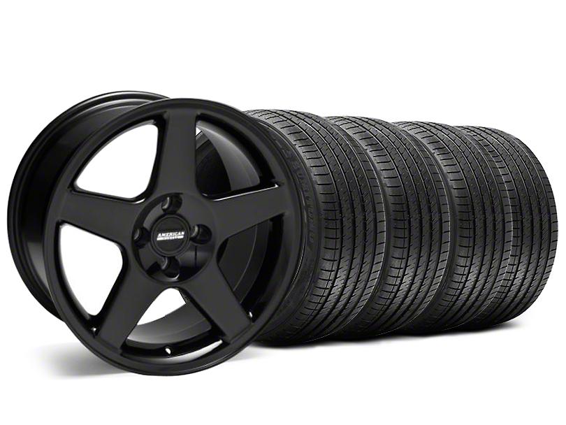 2003 Cobra Style Black Wheel & Sumitomo Tire Kit - 17x9 (87-93; Excludes 93 Cobra)