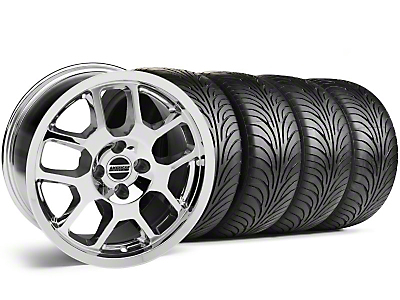 2007 GT500 Chrome Wheel & Sumitomo Tire Kit - 17x9 (87-93; Excludes 93 Cobra)