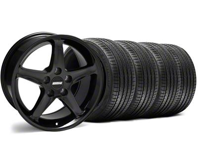 1995 Cobra R Style Black Wheel & Sumitomo Tire Kit - 17x9 (94-98 All)