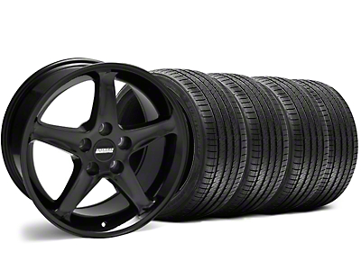Black 1995 Style Cobra R Wheel & Sumitomo Tire Kit - 17x9 (94-98 All)