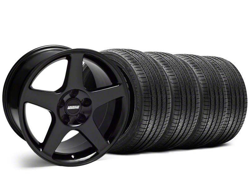 2003 Cobra Style Black Wheel & Sumitomo Tire Kit - 17x9 (94-98 All)