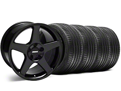 2003 Cobra Black Wheel & Sumitomo Tire Kit - 17x9 (94-98 All)