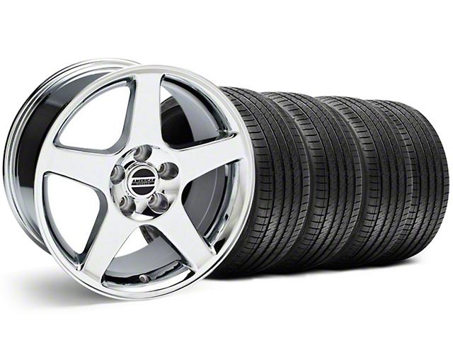 2003 Cobra Style Chrome Wheel & Sumitomo Tire Kit - 17x9 (94-98 All)
