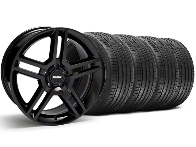 2010 GT500 Style Black Wheel & Sumitomo Tire Kit - 18x9 (94-98 All)