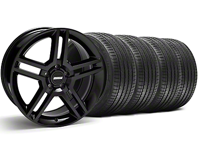 2010 GT500 Black Wheel & Sumitomo Tire Kit - 18x9 (94-98 All)