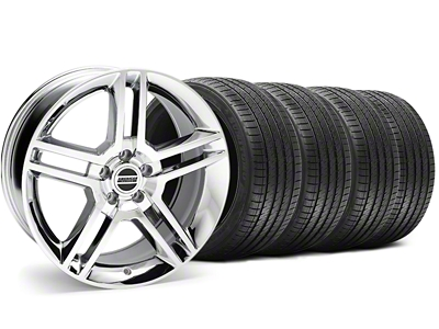 2010 GT500 Style Chrome Wheel & Sumitomo Tire Kit - 18x9 (94-98 All)